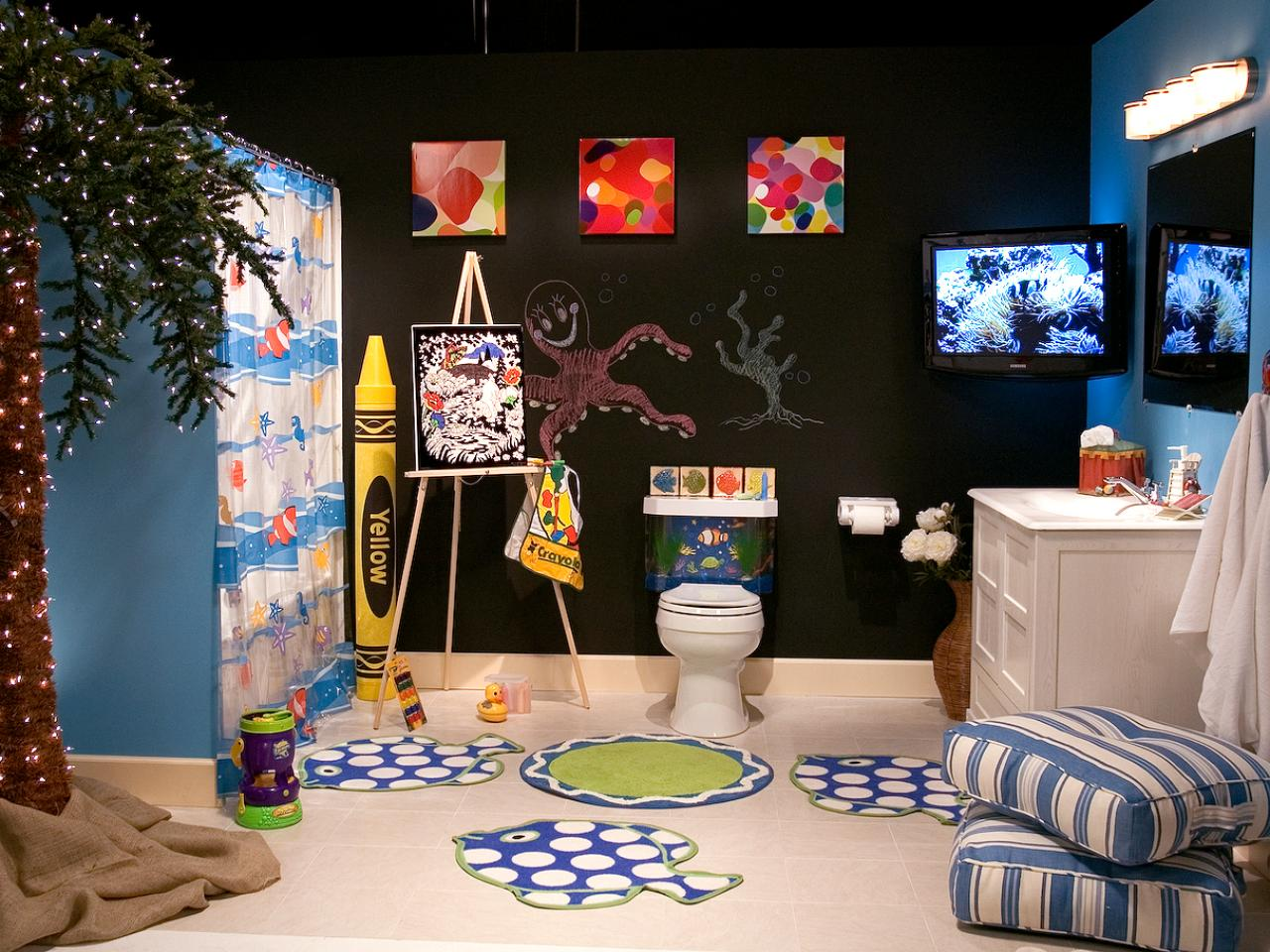 Decor Ideas Kids Ultimate Kids 39 Bathroom Hgtv