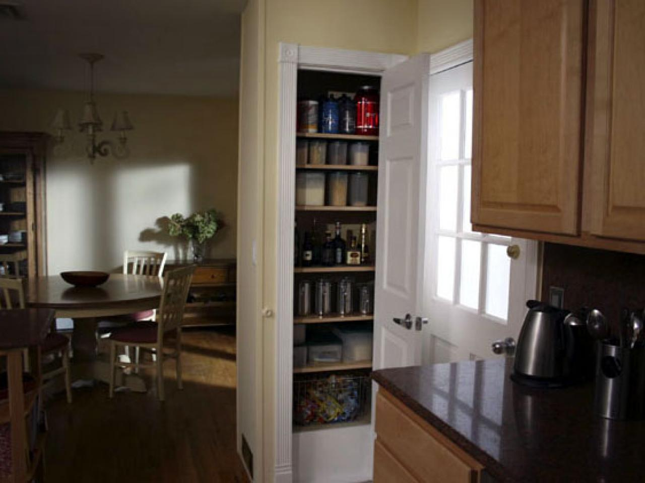 Adding A Wall To A Room Add Storage To Your Kitchen By Adding A Pantry Hgtv