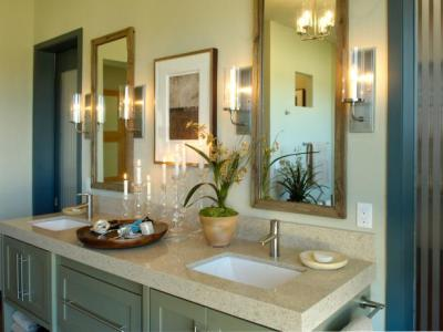 Colonial Bathrooms: Pictures, Ideas & Tips From HGTV | HGTV