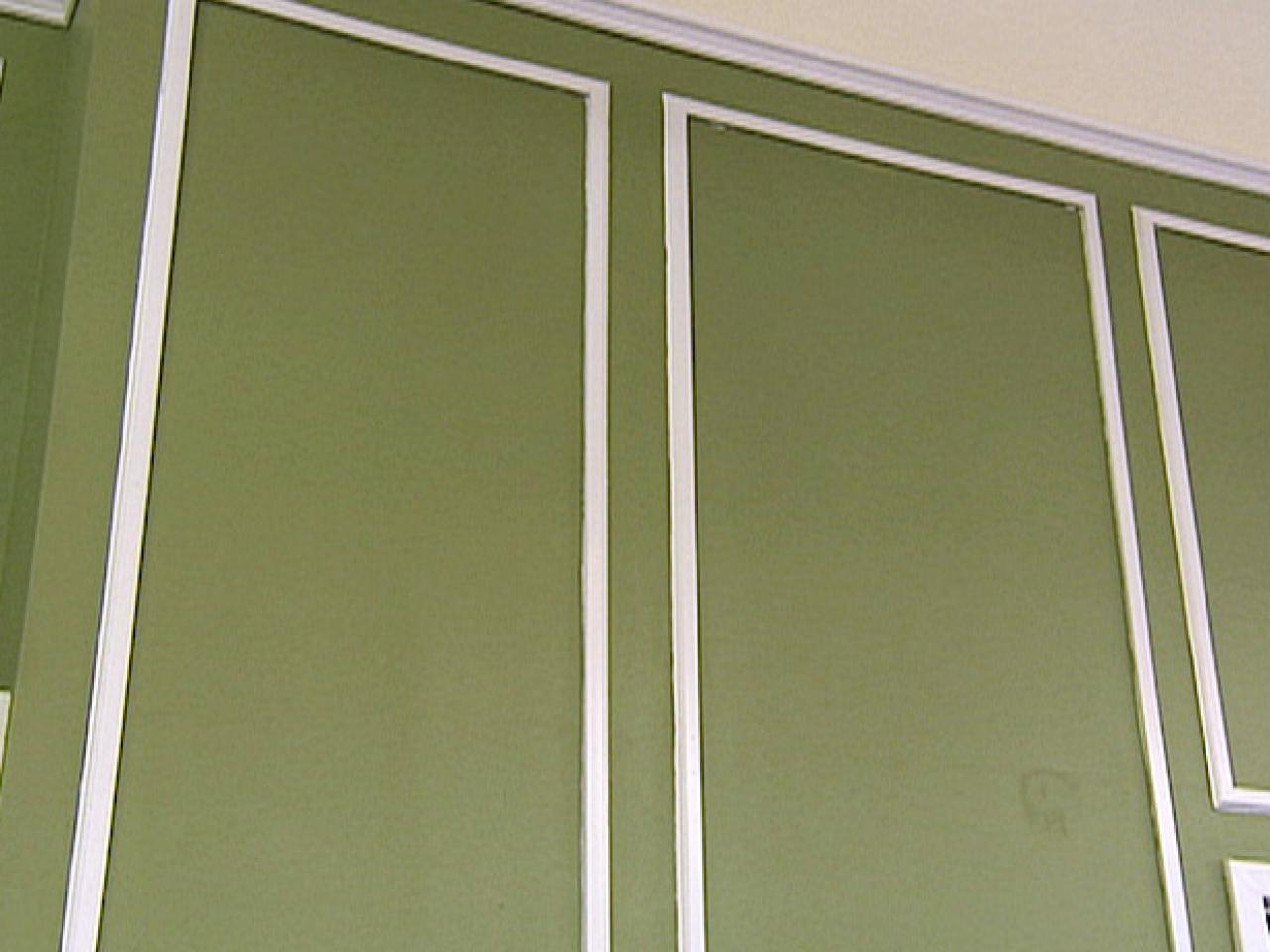 What Color To Paint Paneling How To Create Paneled Walls Hgtv