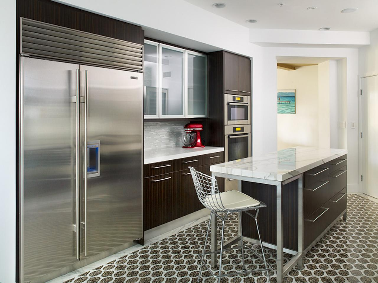 Images Of Modern Kitchens Small Modern Kitchen Design Ideas Hgtv Pictures And Tips Hgtv