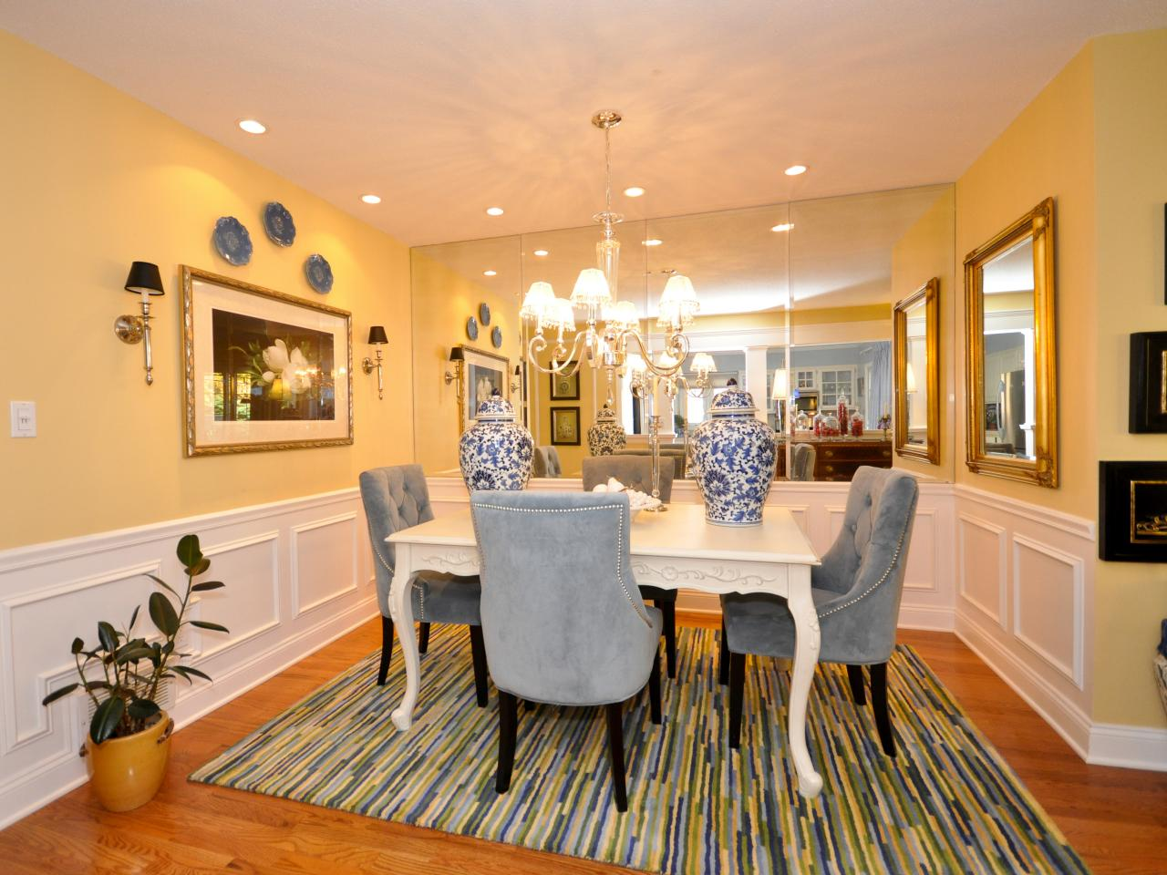 Yellow Dining Room Walls Photo Page Hgtv
