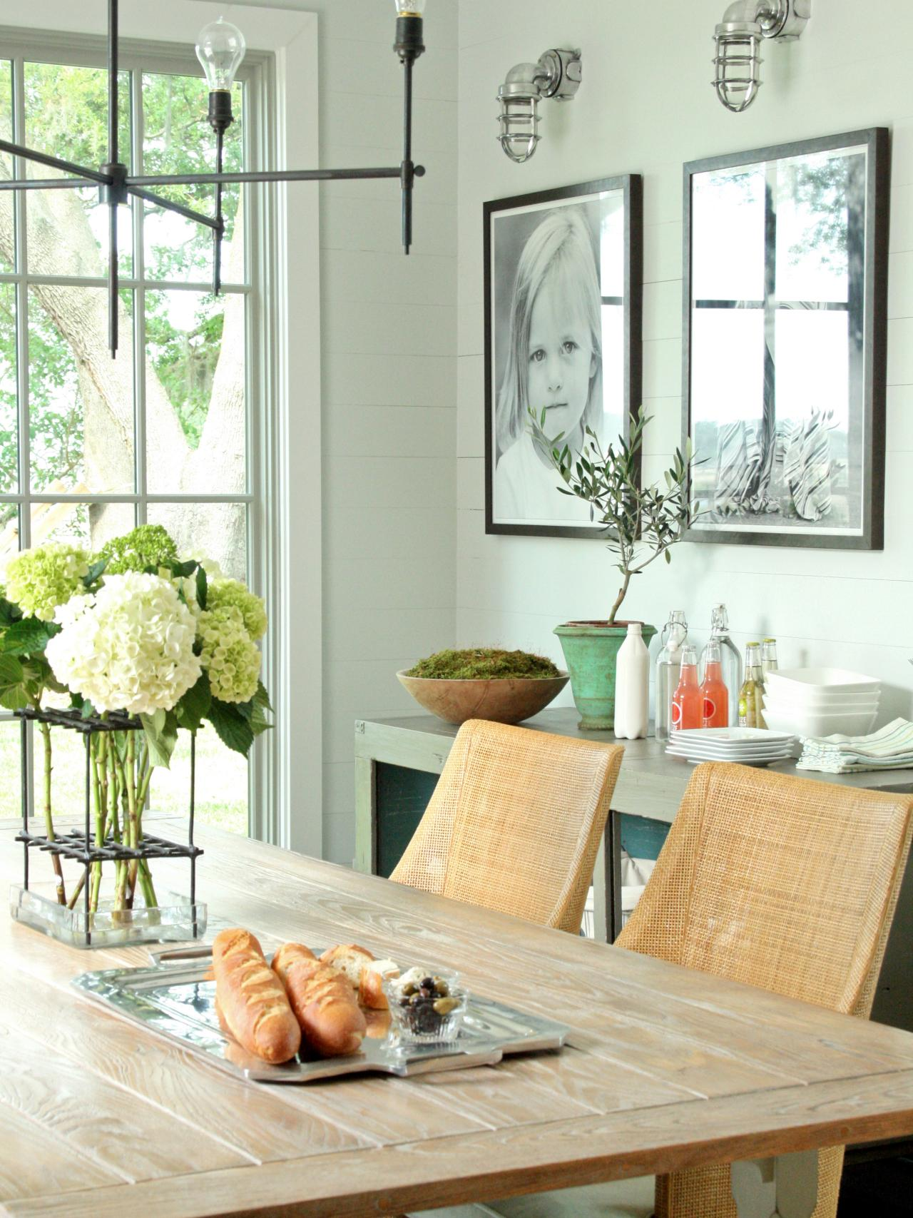 Decorating Ideas Dining Table 15 Ways To Dress Up Your Dining Room Walls Hgtv S Decorating