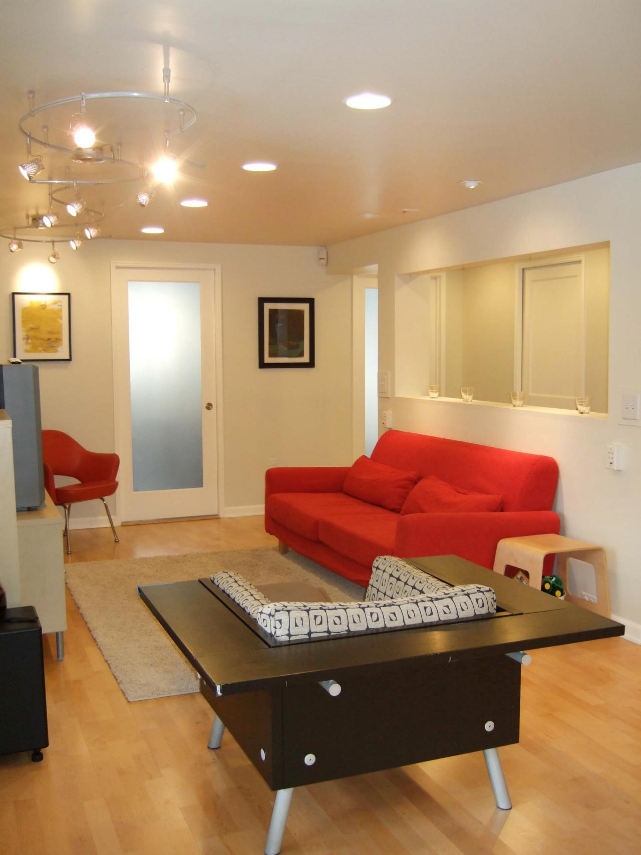 Average Cost Of Furniture For A House Basement Finishing Costs Hgtv