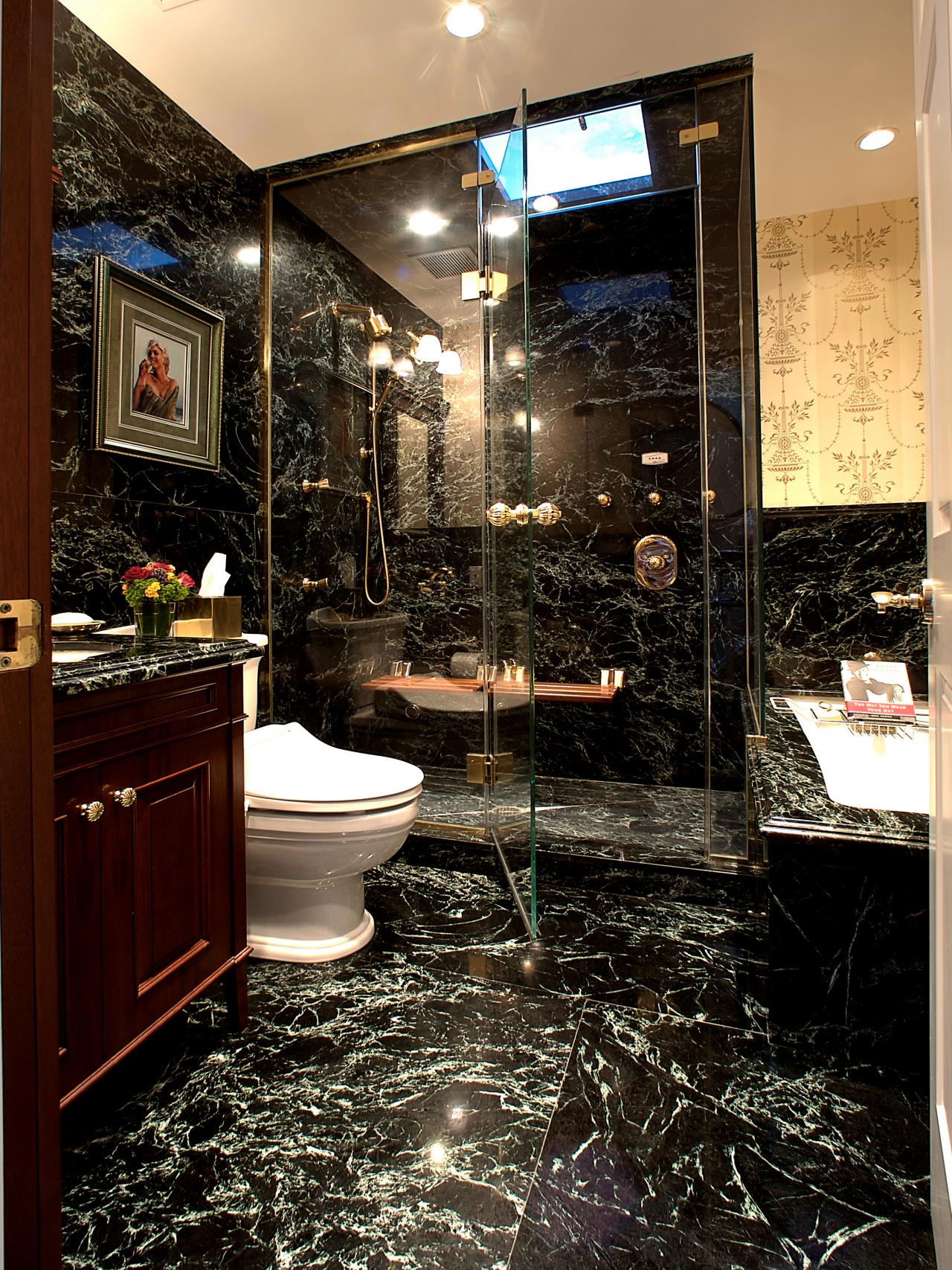 Marble Bathrooms We Re Swooning Over Hgtv S Decorating Design Blog Hgtv