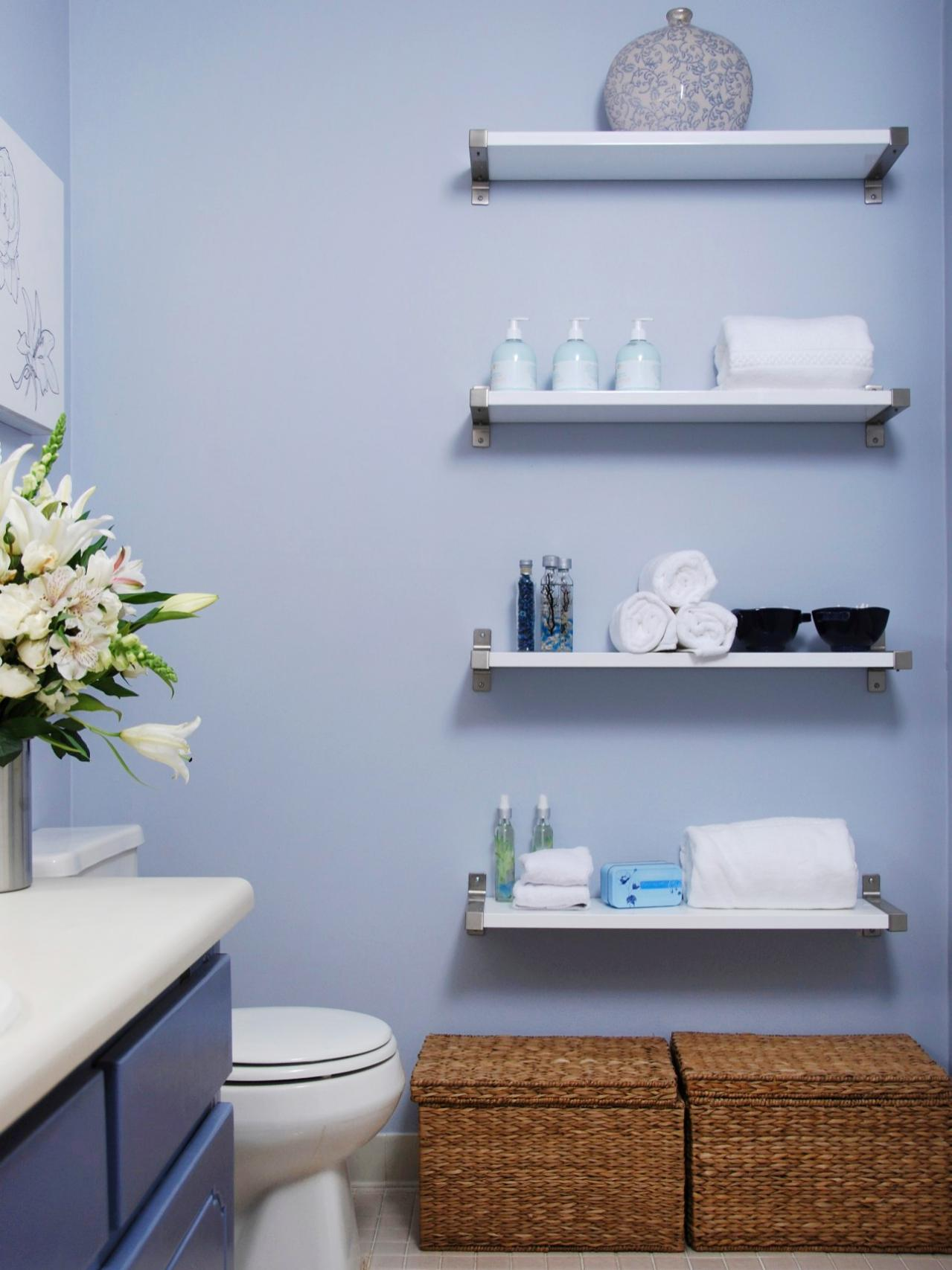 Decorating With Wall Shelves Decorating With Floating Shelves Interior Design Styles