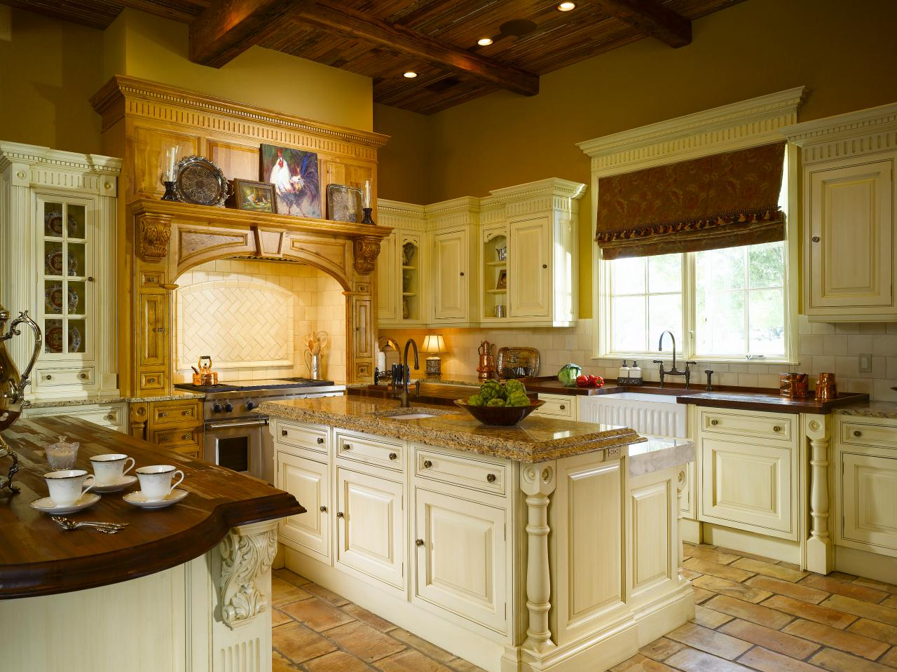 Kitchen Design Yellow Cabinets Yellow Kitchen Cabinets Pictures Ideas And Tips From Hgtv
