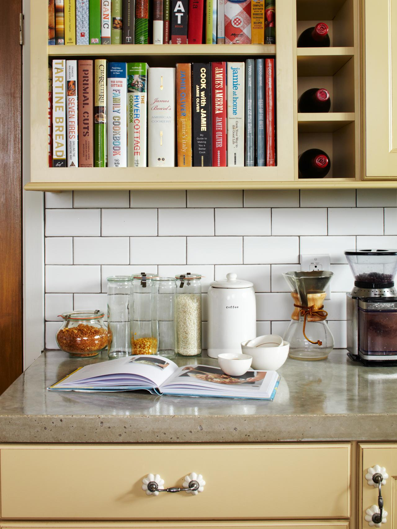 Countertop Book Display Kitchen Chronicles I 39m In Love With My Kitchen Makeover