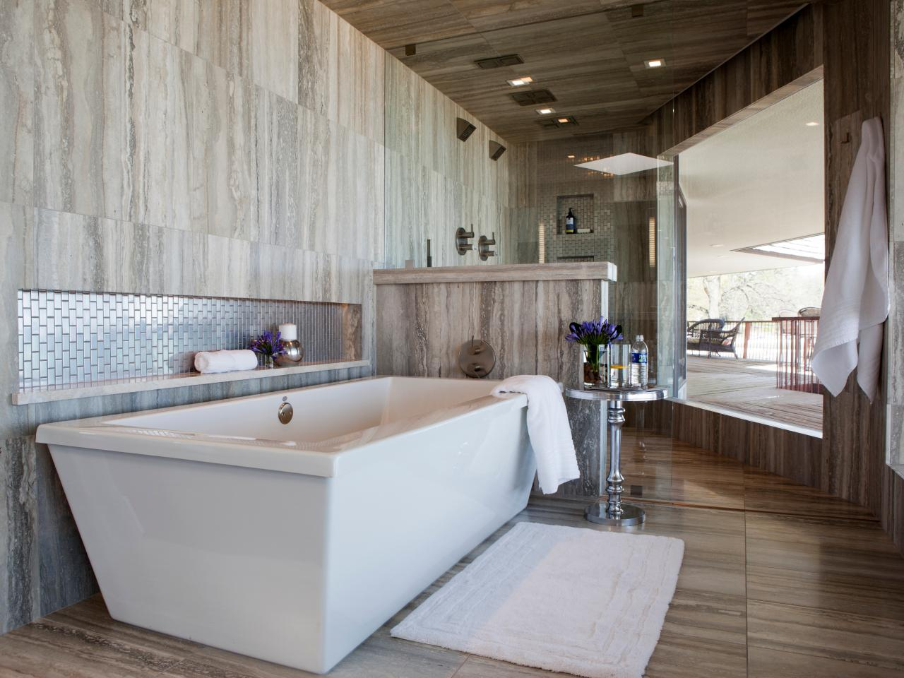 Contemporary Bathrooms: Pictures, Ideas & Tips From HGTV