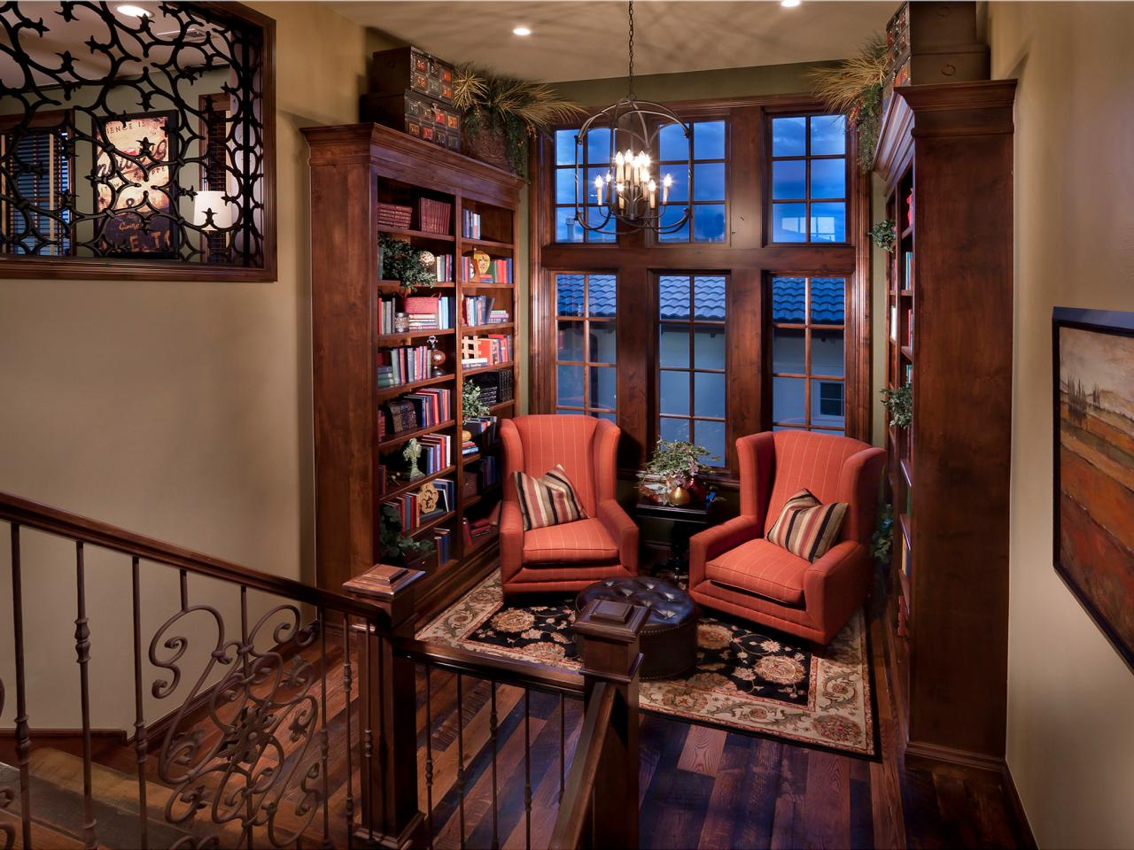 Reading Room Design Photo Page Hgtv