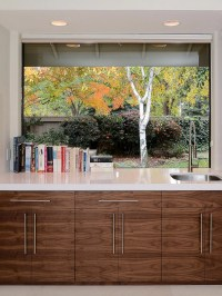 Contemporary Kitchen Window Treatments + HGTV Pictures ...