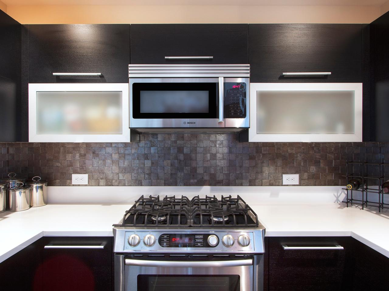 Dark Gray Backsplash Tile Backsplash Ideas Pictures And Tips From Hgtv Kitchen