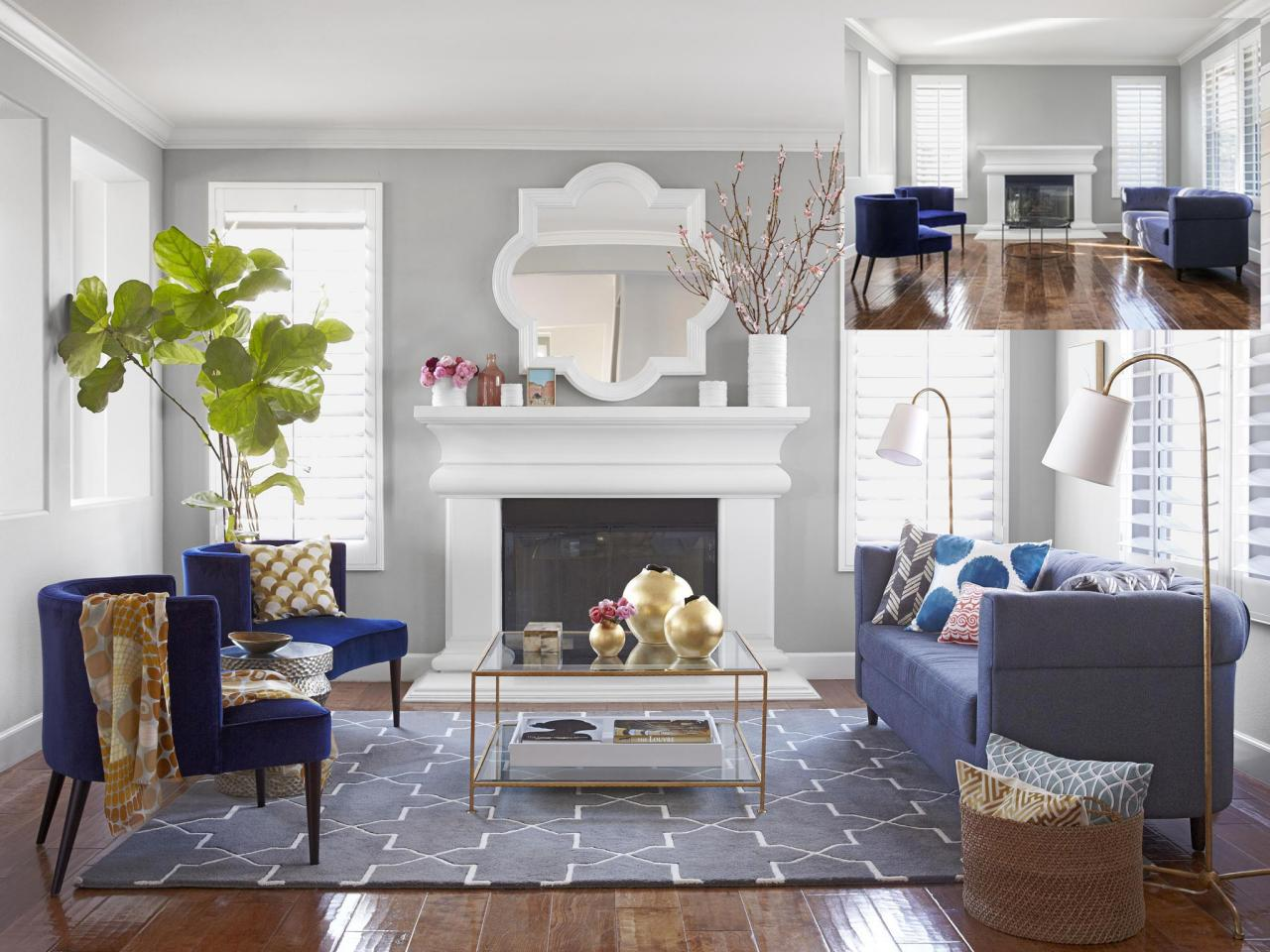 Nice Living Room Colors A Mother 39s Day Living Room Makeover Hgtv