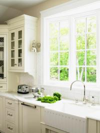 Small Kitchen Window Treatments: HGTV Pictures & Ideas | HGTV