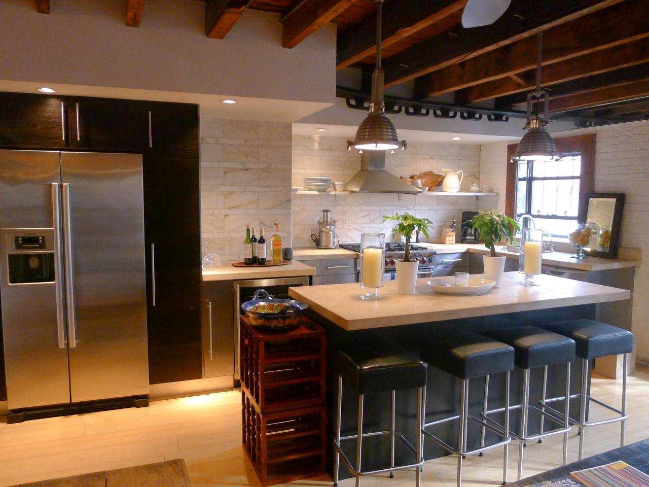 Images Of Modern Kitchens Modern Design Kitchen Cabinet Doors Hgtv Pictures And Ideas