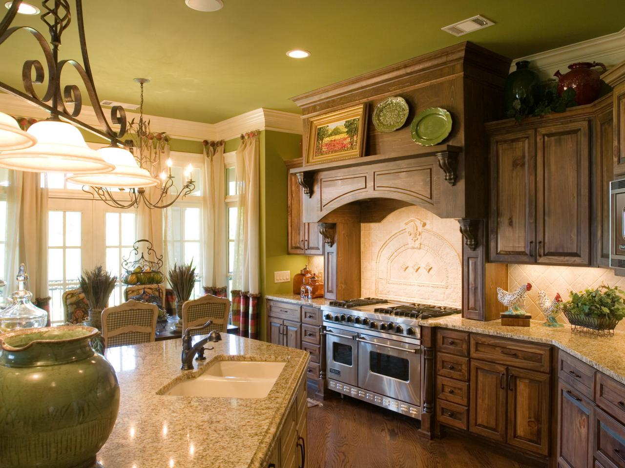French Kitchen Pictures French Country Kitchen Cabinets Pictures And Ideas From