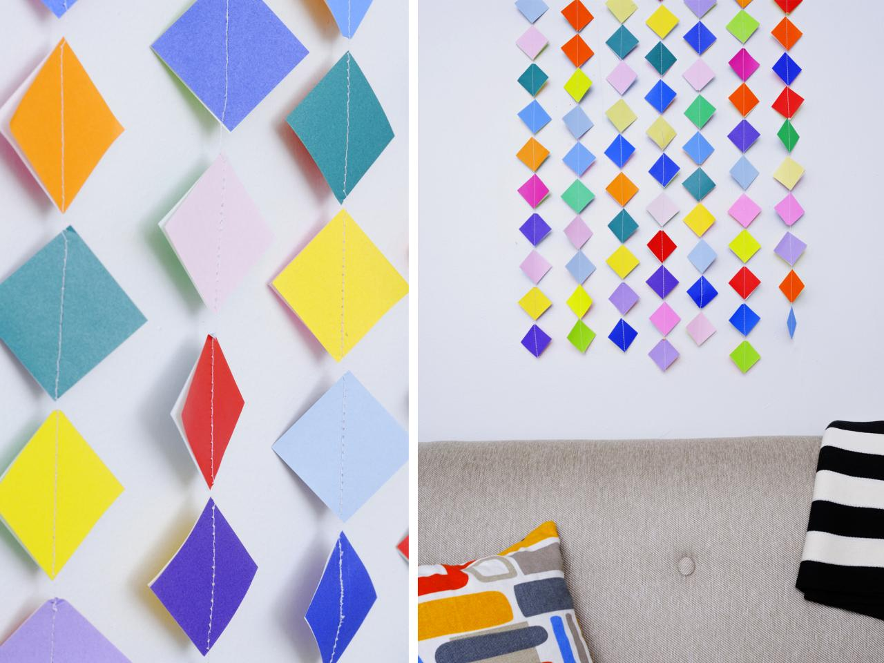 Buntes Papier 7 Diy Art Projects To Try Hgtv 39s Decorating And Design