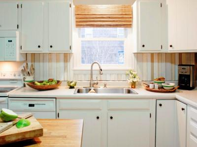 Do-It-Yourself DIY Kitchen Backsplash Ideas + HGTV Pictures | HGTV