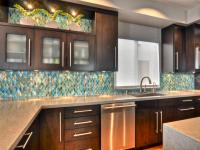 Glass Backsplash Ideas: Pictures & Tips From HGTV