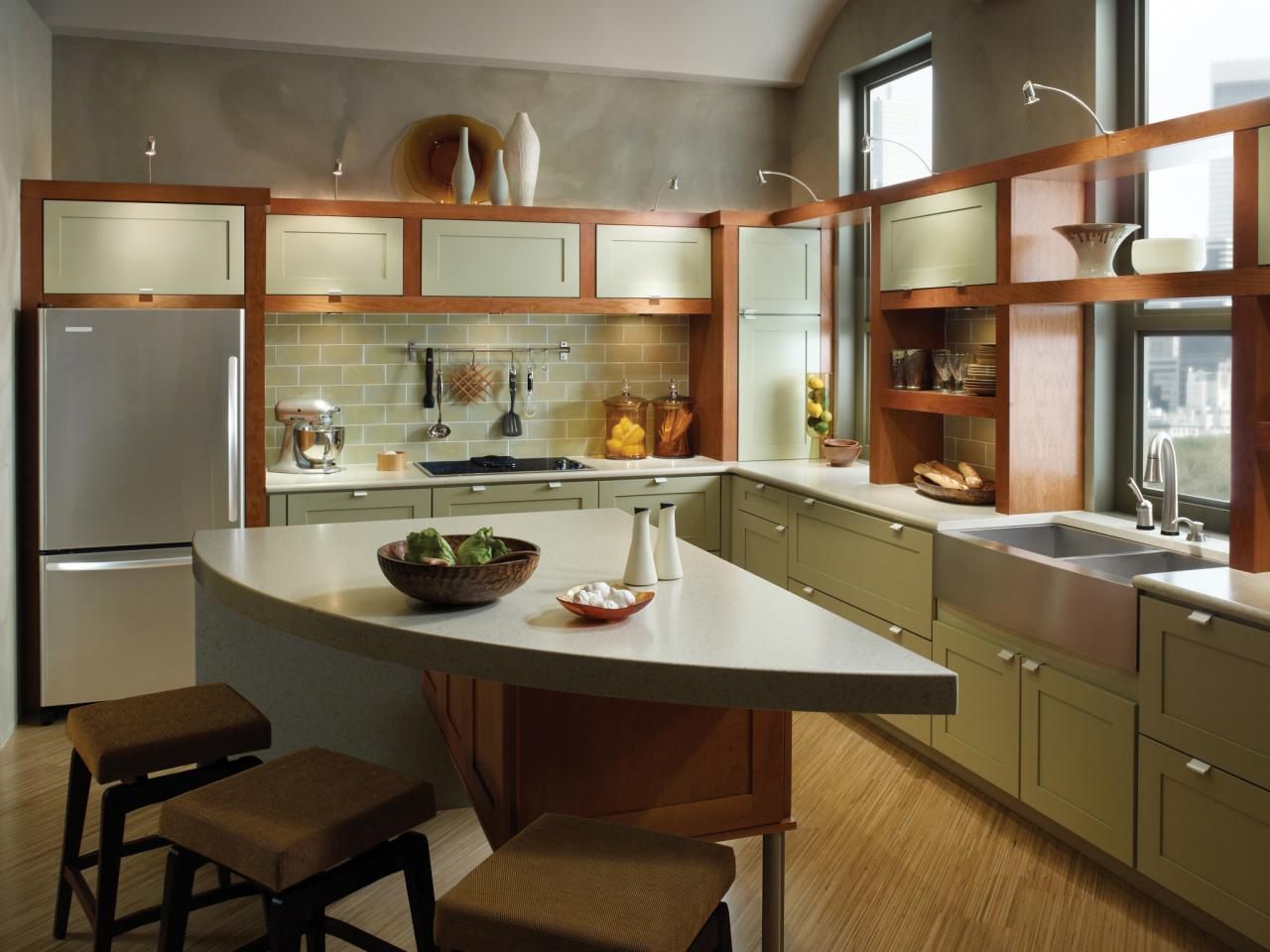 Quickest Way To Paint Kitchen Cabinets Options For Painting A Kitchen Pictures And Ideas From Hgtv