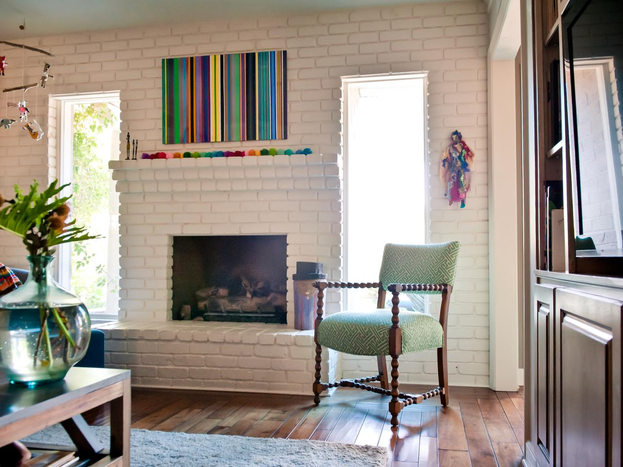 Design Ideas For Family Room With Fireplace 15 Ideas For Decorating Your Mantel Year Round Hgtv S Decorating