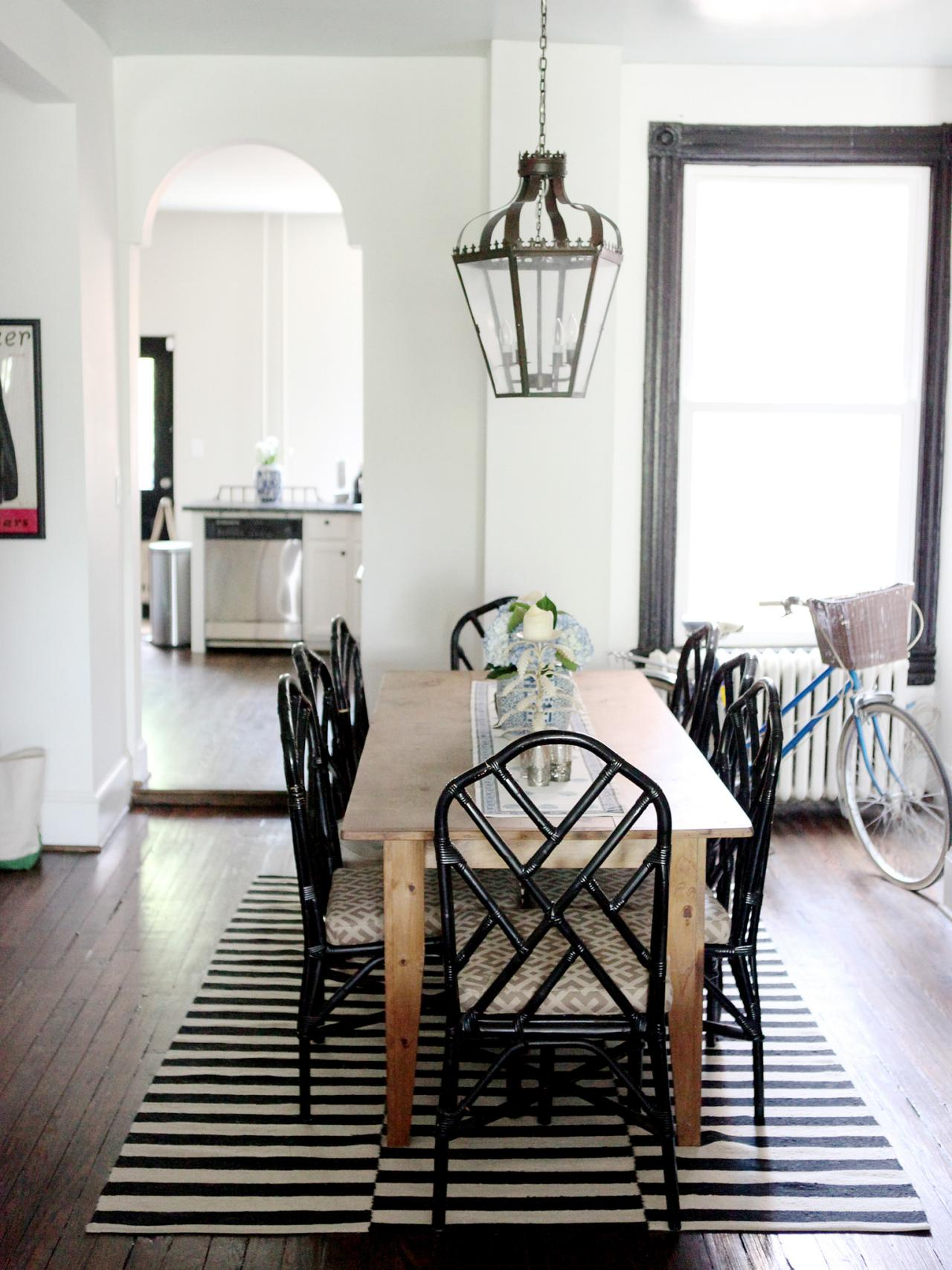Dining Room Black And White Black And White Dining Room Photos Hgtv