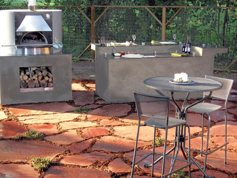 Outdoor Kitchen Sinks Pictures Ideas Tips From Hgtv Hgtv