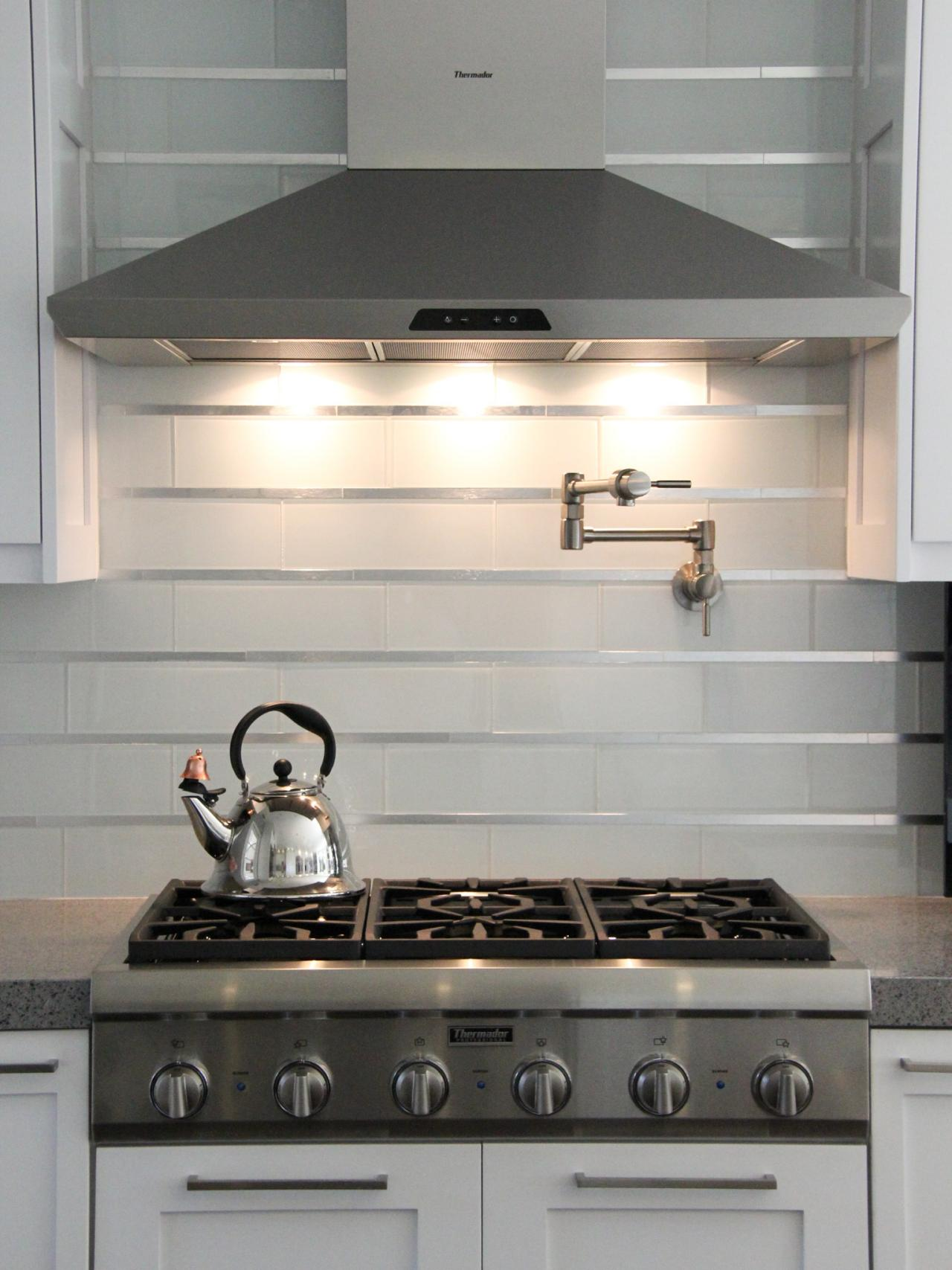stainless steel tile backsplash contemporary backsplash contemporary kitchen backsplash ideas hgtv pictures kitchen ideas