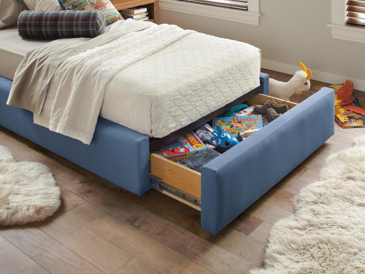 King Single Bed With Drawers 10 Beds That Look Good And Have Killer Storage Too Hgtv S