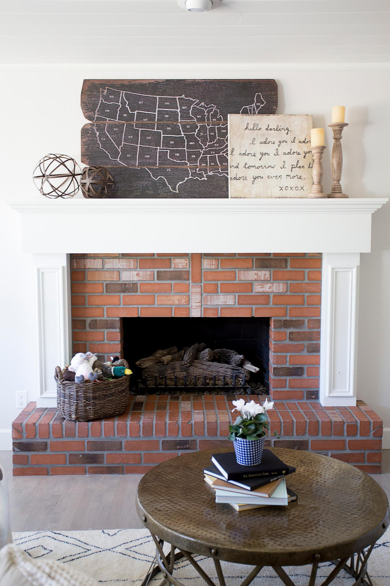 How To Decorate Fireplace 15 Ideas For Decorating Your Mantel Year Round Hgtv S Decorating