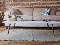 How to Make a Midcentury Modern Coffee Table