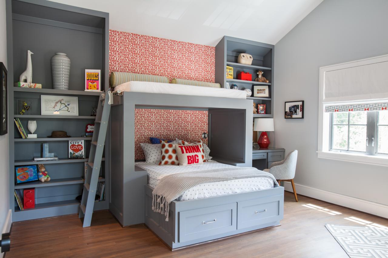 Cool Beds For Boys Custom Boys 39 Bunk Bed Fresh Faces Of Design Hgtv