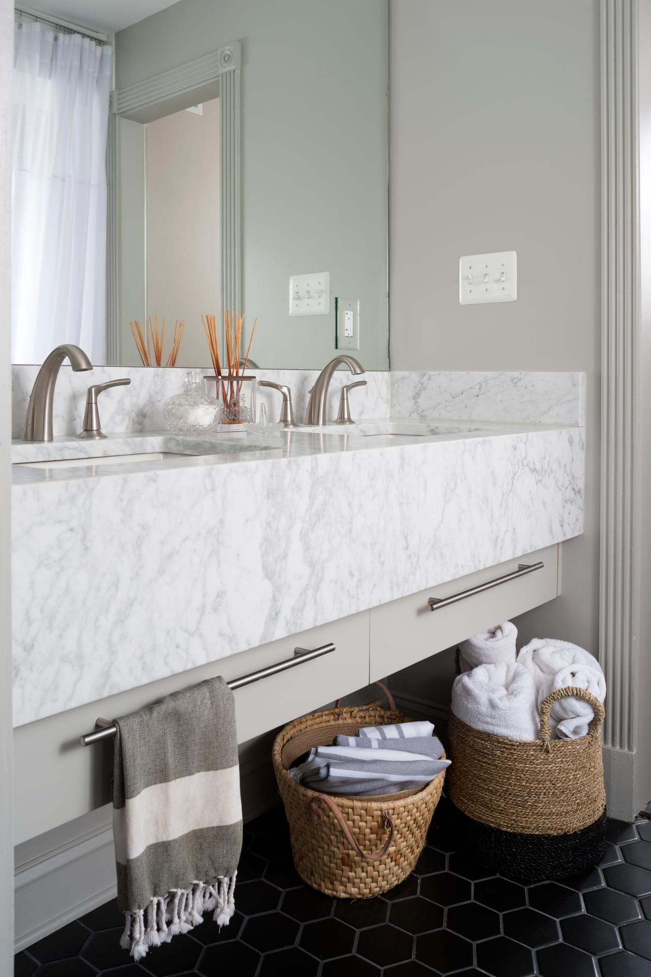 Marble Bathrooms We're Swooning Over | HGTV's Decorating & Design Blog | HGTV