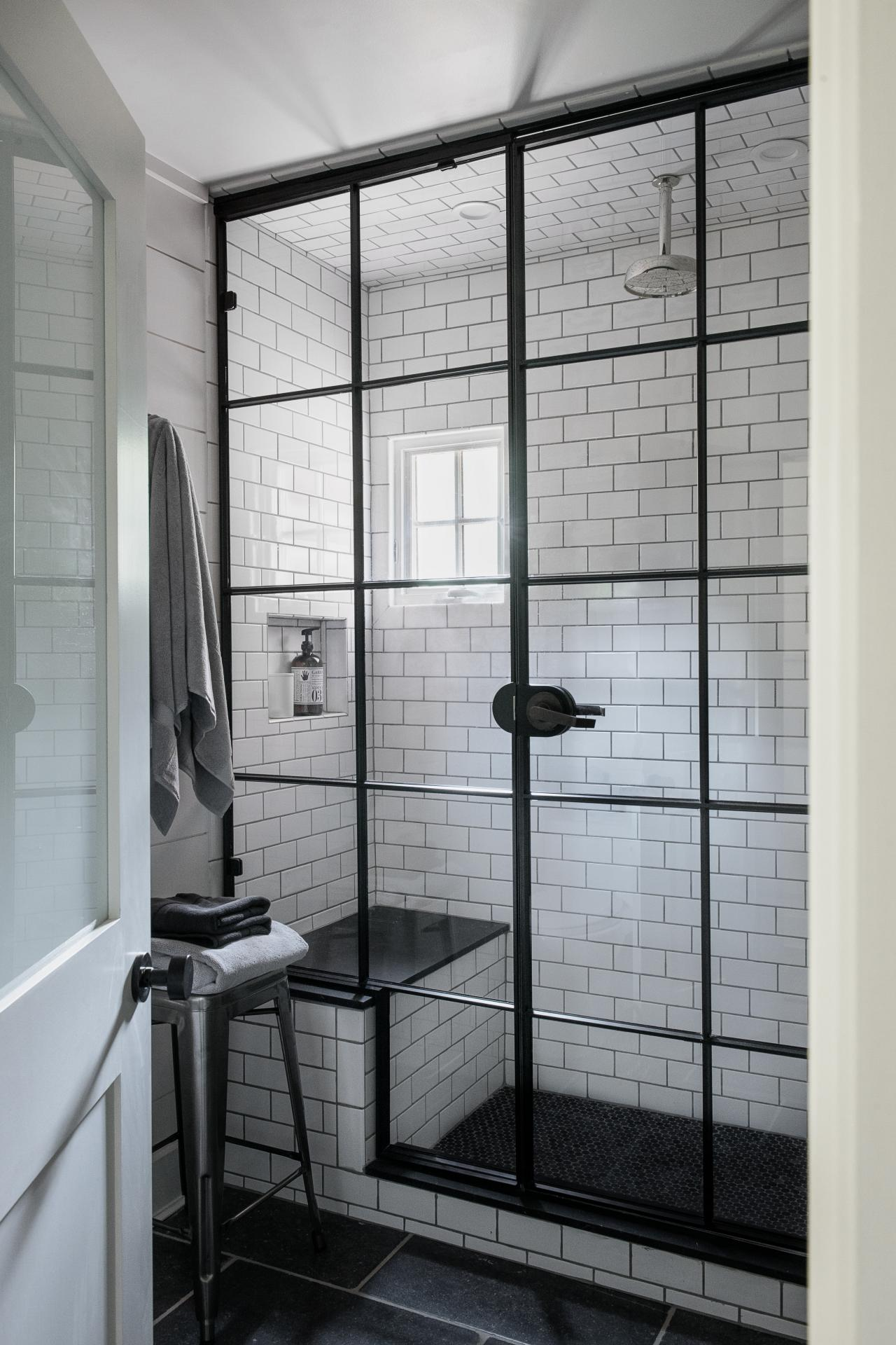 Subway Tile Bathroom Designs The History Of Subway Tile Our Favorite Ways To Use It Hgtv S