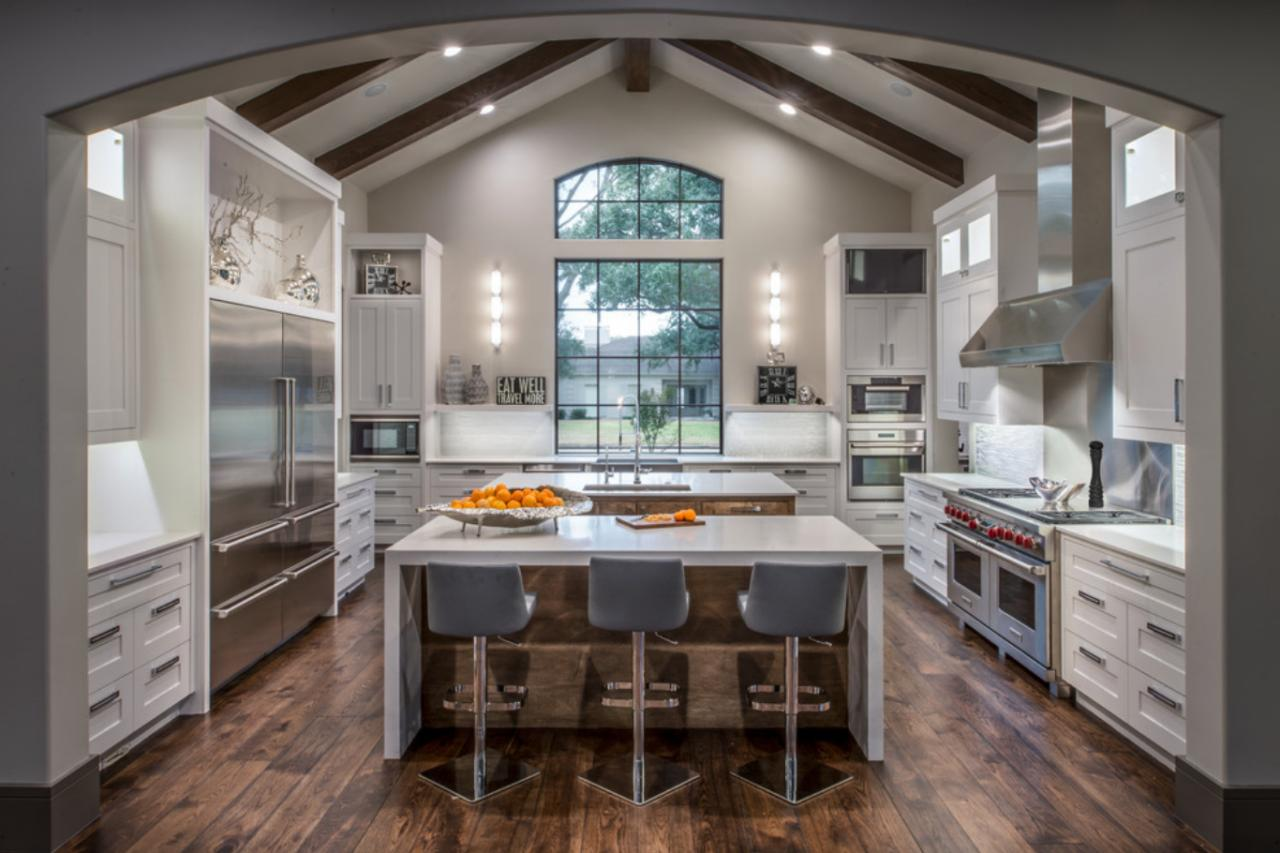 Images Of Modern Kitchens Modern Kitchen Window Treatments Hgtv Pictures And Ideas Hgtv