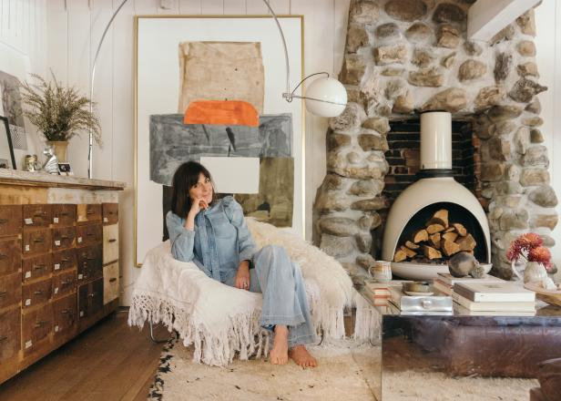 Design Decorate New House Hgtv's Leanne Ford Sells Her California Cool Cabin To Lana