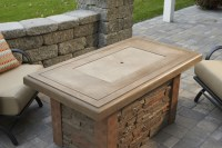 Outdoor Greatroom Company Linear Sierra Fire Pit Table ...