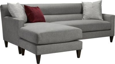 Sofa Entertainment Group Llc Laclede Convertible Sofa With Chaise