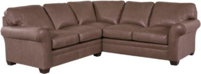 Broyhill Brown Corduroy Sofa Zachary Sectional Broyhill