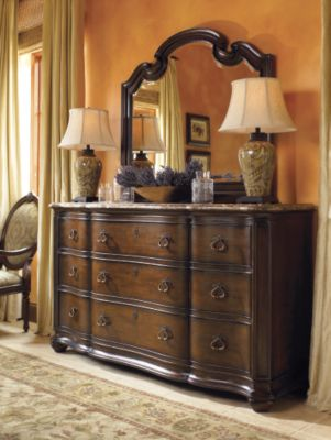 Lucca Dresser Marble Top Thomasville Furniture