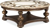 Trebbiano Round Cocktail Table (Stone Top) | Thomasville ...