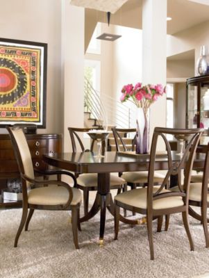 i double pedestal dining table kitchen table designs Double Pedestal Dining Table Zoom In