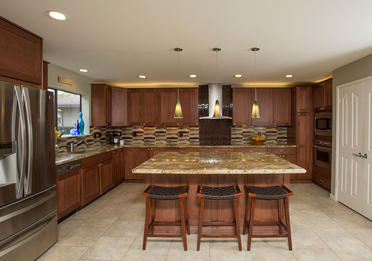 Kitchen Design Center Hawaii Kitchen Remodeler Perfecting A Puzzling Kitchen Remodel