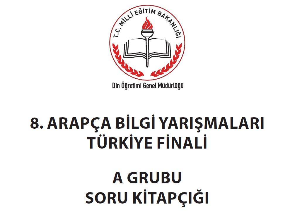 8Arapça Bilgi Yarışması Türkiye Finali Soruları ve Cevapları HHKÖKSAL