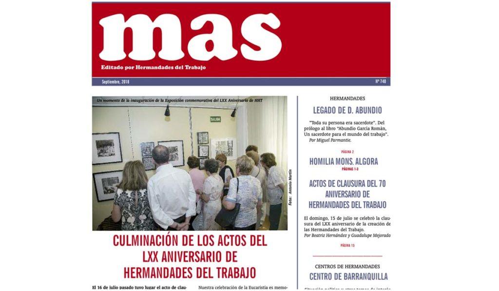 portada-mas-septiembre - Hermandades del Trabajo - Centro de Madrid