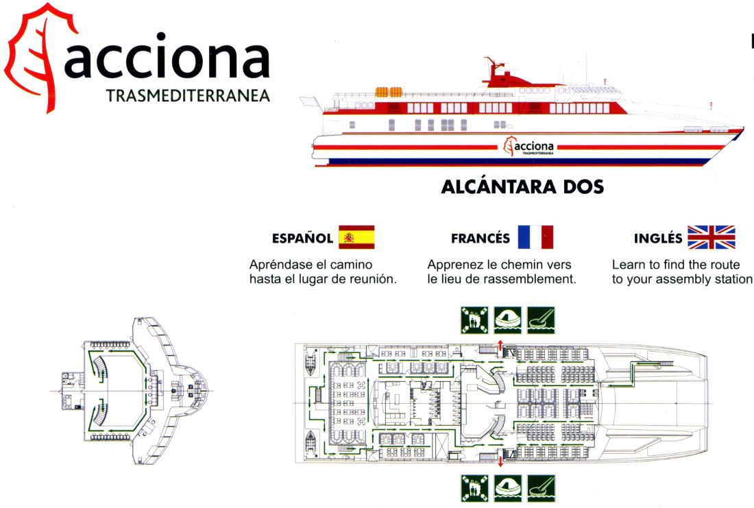 Caminetto D'oro Ausonia Hhvferry Deckplans