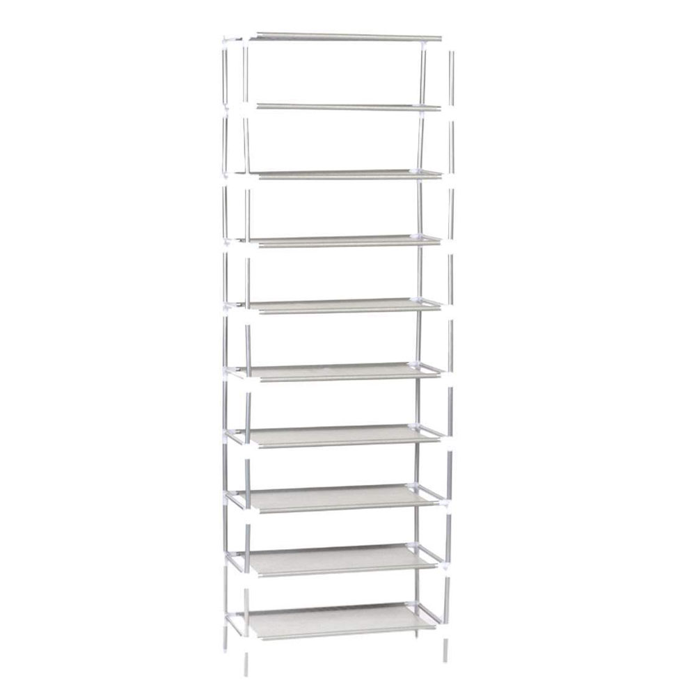 5 10 Tier Storage Organizer Cabinet Shelf Space Saving