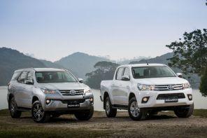 Toyota Hilux e SW4 agora têm motor flex
