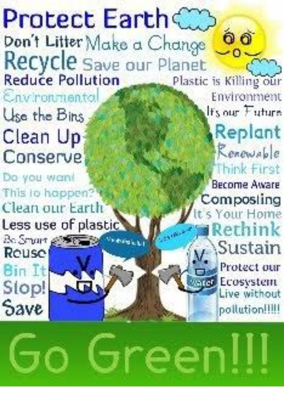 How To Reduse Pollution Make Posrer Of Reduce Pollution Brainly In