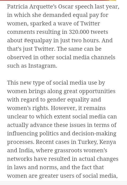 Essay on role of social media in women empowerment - Brainlyin